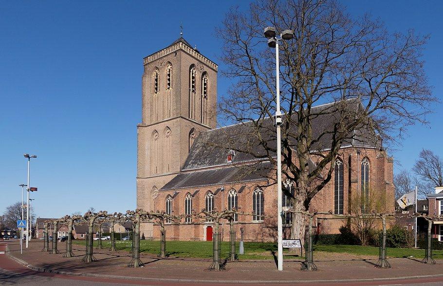 Kerk in het centrum van Didam