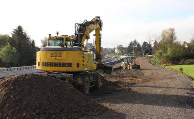 snelweg bouw grond