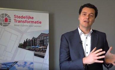 Erwin Heurkens en Tom Daamen van de TU Delft