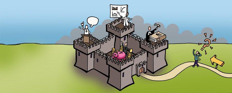 4 rationaliteiten Illustratie: Rémon Mulder