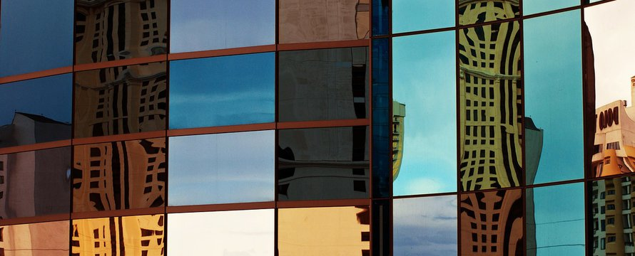 stad kantoor gebouw