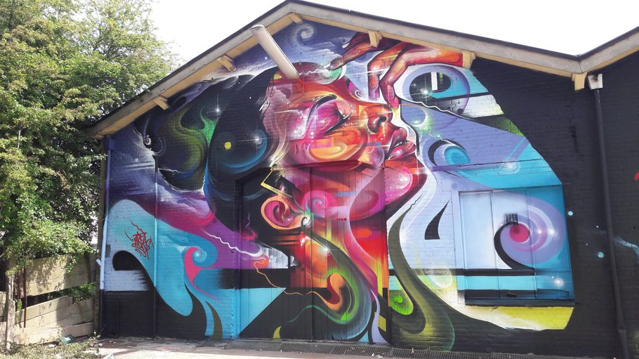 Graffiti Binckhorst