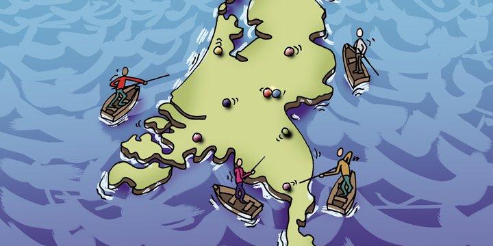Biljarten op zee