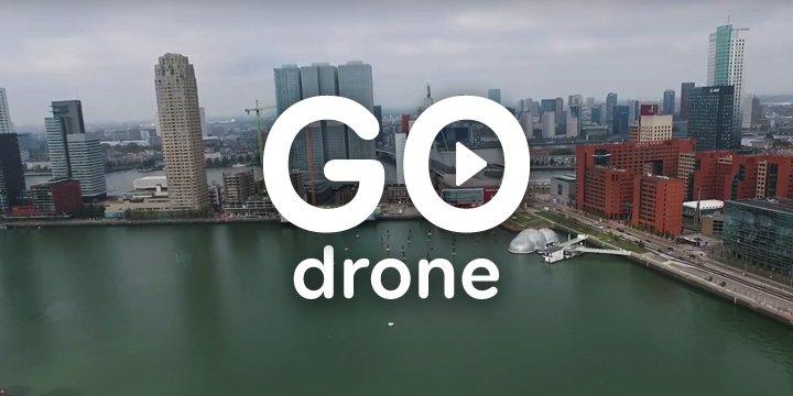 GO Drone: Rotterdam de hoogte in