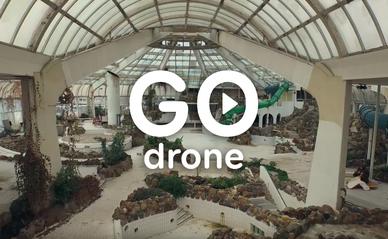 GO drone: van Tropicana naar BlueCity