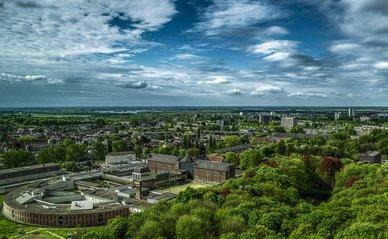 Groningen luchtfoto groen - Pixabay, 2020
