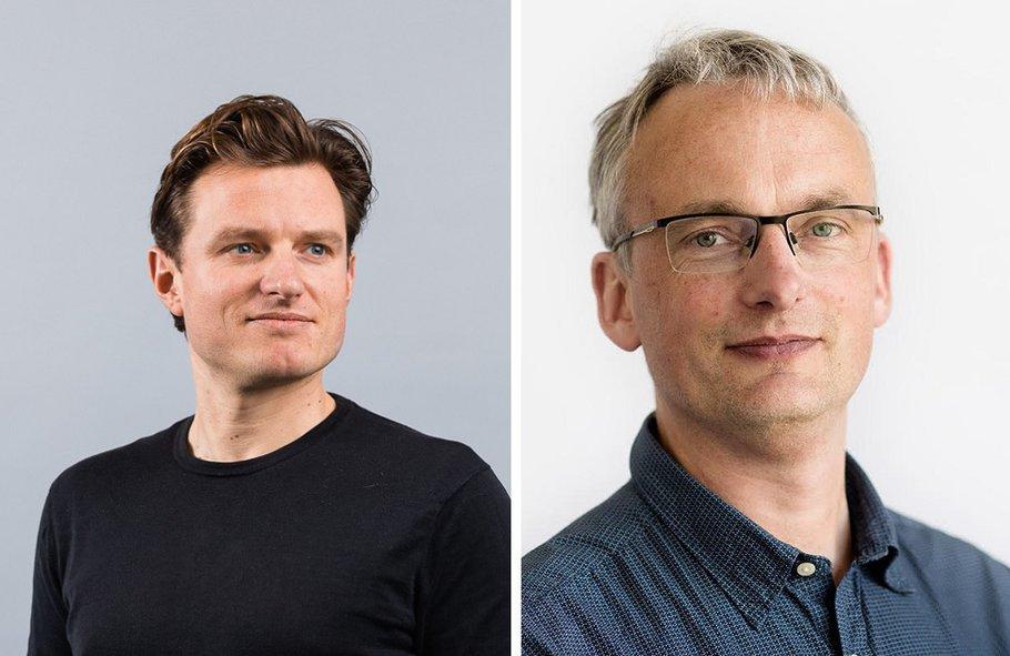Han Dijk en Wim Voogt