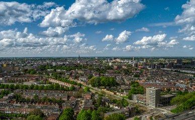 Groningen luchtfoto