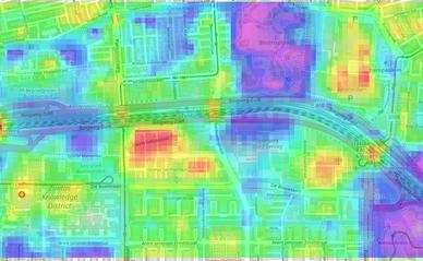 AI-tool toont in Amsterdam-Zuid open ruimte op basis van lucht, natuur of bouw