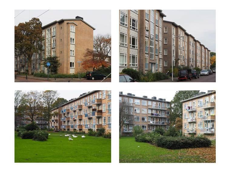 Figuur 3 Bouwblok in Morgenstond. Foto's auteur.