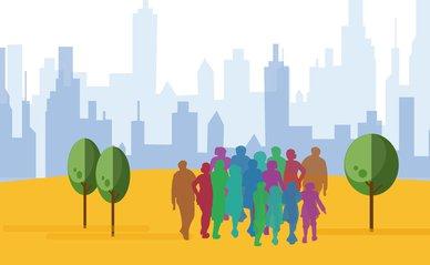 Inclusieve stad - eigen afbeelding