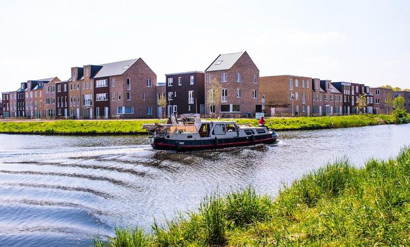 ingang hoek De Waterkant Wilhelminakanaal