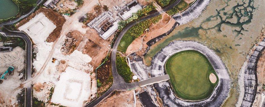 Topview bouwplaats -> Photo by Ivan Bandura on Unsplash