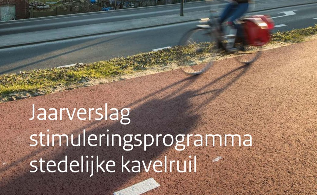 jaarverslag van het Stimuleringsprogramma Stedelijke Kavelruil