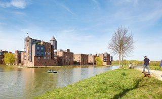 Haverleij (Den Bosch) is gebiedsontwikkeling met het landschap, maar het landschap zelf is ook ontwikkeld