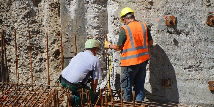 constructie bouwvakkers