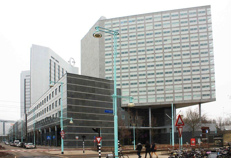 Sloterdijk gebouw (Kingsfordweg) voor