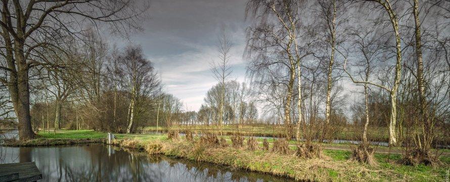 Landschap Nederland Haastrecht