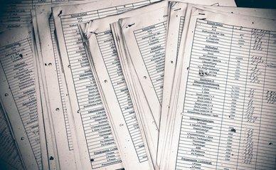 papier lijst