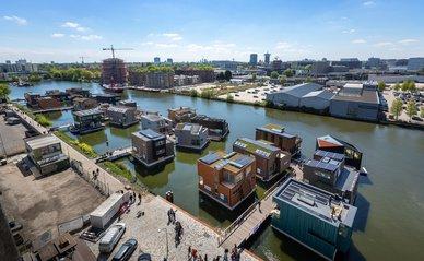 Overzichtsfoto Schoonschip Amsterdam