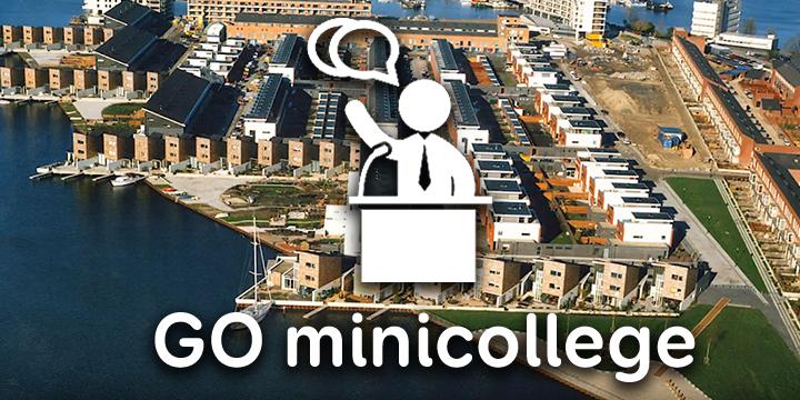 Minicollege binnenstedelijke gebiedstransformatie, deel 1
