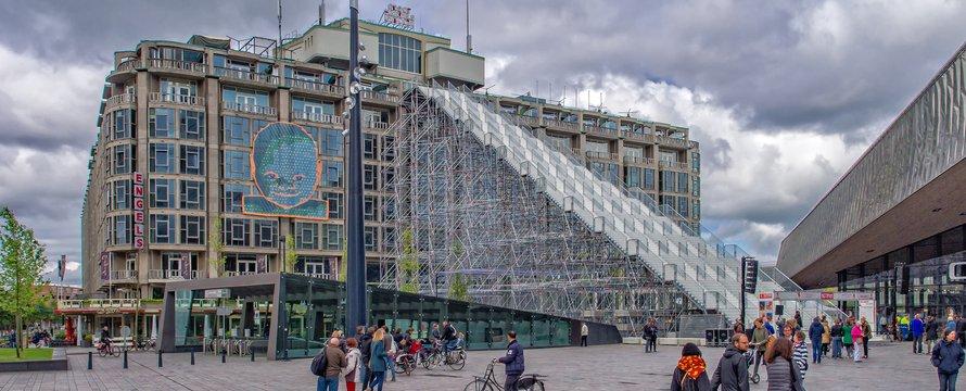 Rotterdam trap groothandelsgebouw