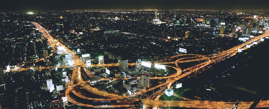 night aerial
