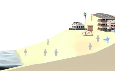 ocean game screenshot LA Times
