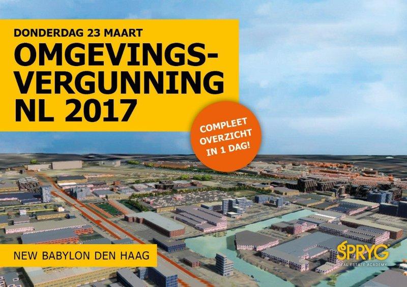 Omgevingsvergunning NL 2017