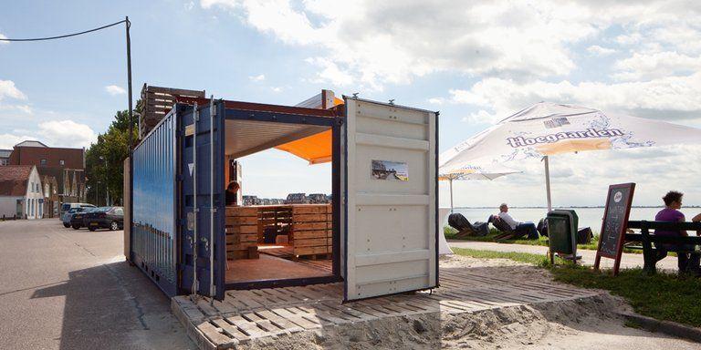 Hoorn ontslakt trage procedures met pop-up strandpaviljoen - Afbeelding 1