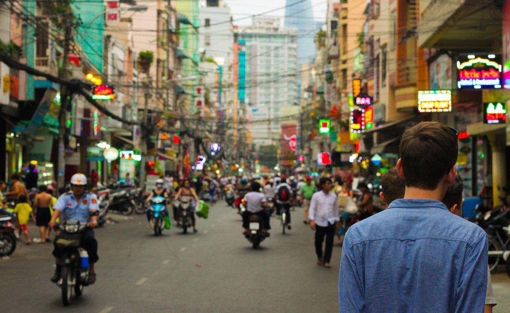 Straat azië