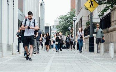 pedestrians voetgangers mensen