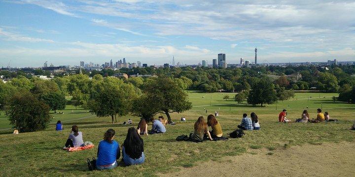 groen stad mensen park Primrose Hill - Pixabay, 2020