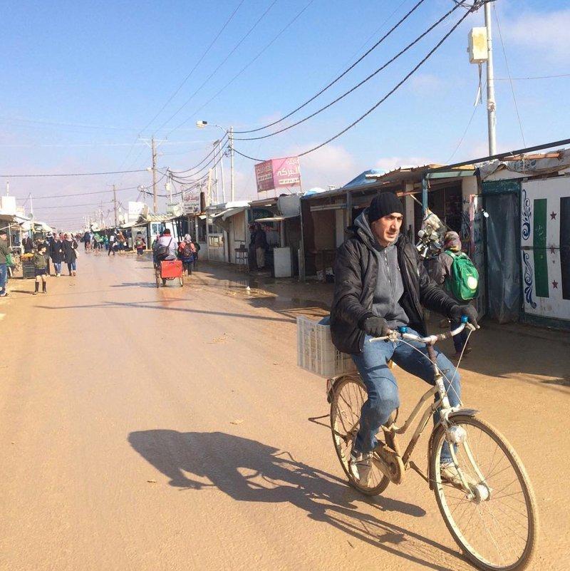 Vluchtelingenkamp Jordanie
