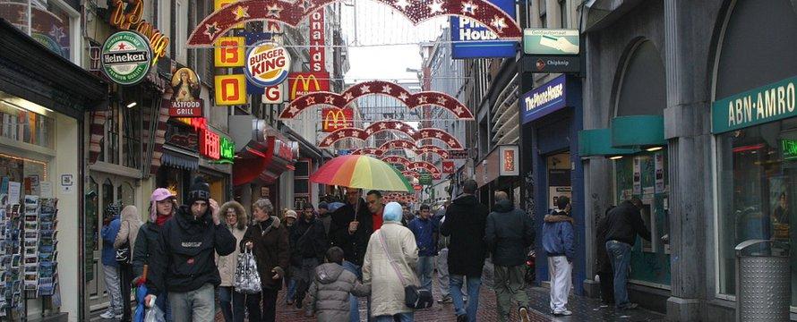 Regen Amsterdam