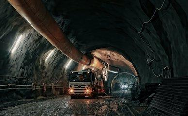 Aanleg tunnel