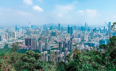 Shenzhen, smart city -> Afbeelding van Charlottees via Pixabay