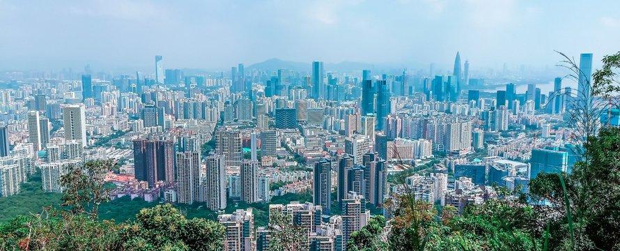 Shenzhen, smart city -> Afbeelding van Charlottees via Pixabay