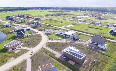Luchtfoto Oosterwold Almere