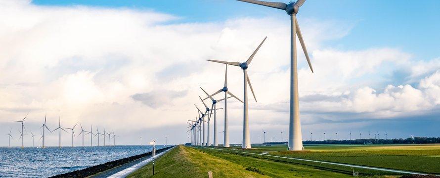 Windmolenpark Nederland