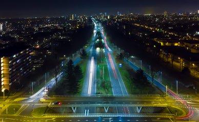Snelweg door Eindhoven