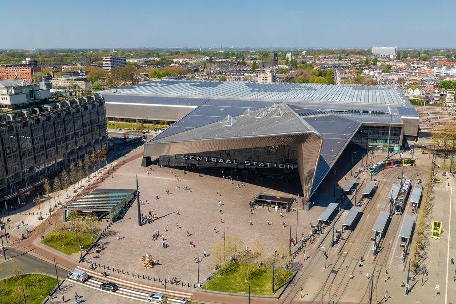 Rotterdam Centraal Station - plein