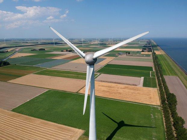 De polder van Wieringermeer