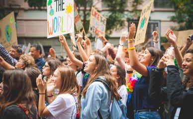 Klimaatdemonstratie, Italië