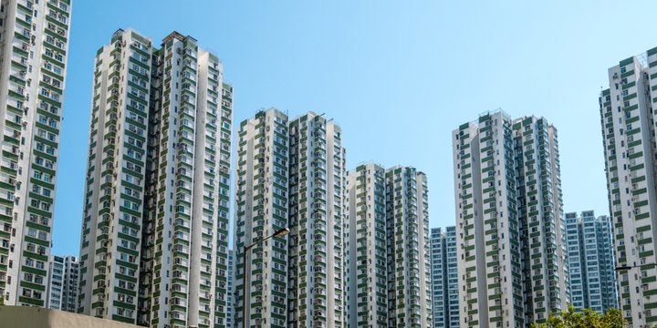 Appartementen in Hong Kong