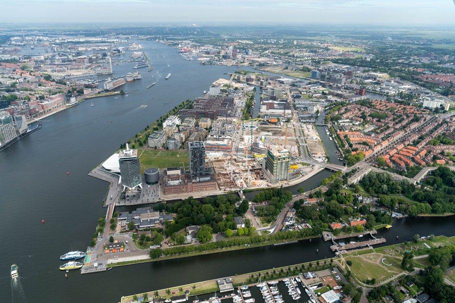 Overhoeks Amsterdam Luchtfoto
