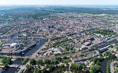 Luchtfoto Haarlem