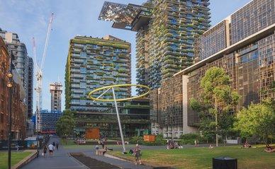 Functiemenging in een buitenwijk van Sydney, Australië