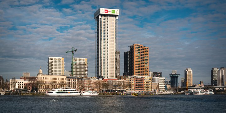 February 2021, De Zalmhaven, also referred to as Zalmhaven Toren, is a project that includes a 215m residential tower in Rotterdam, the Netherlands.
