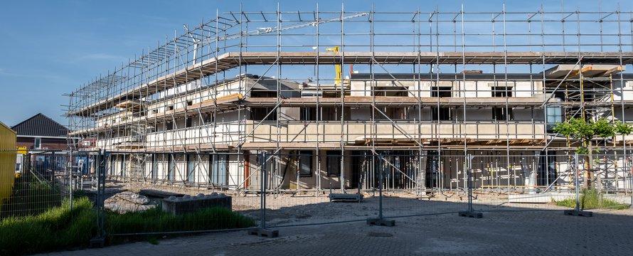 Aanbouw nieuwe wijk
